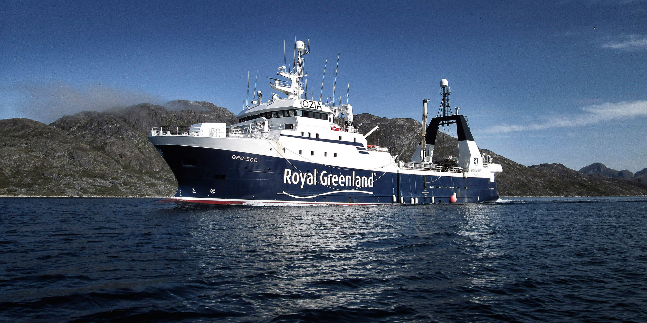 Explore our vessels - Royal Greenland A/S